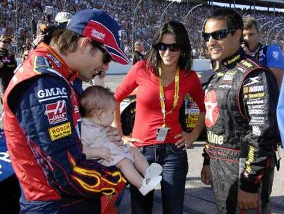 jeff gordon baby. Jeff Gordon is one proud dad,