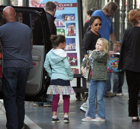 Johnny Depp Girlfriend. Johnny Depp#39;s kids catch a