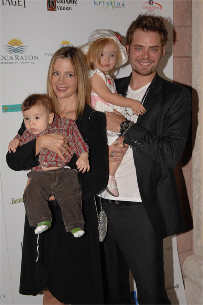 Celebrity Baby Scoop Mira Sorvino Amp Family